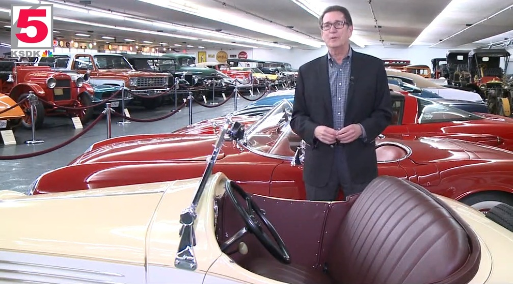 KSDK Features St Louis Car Museum