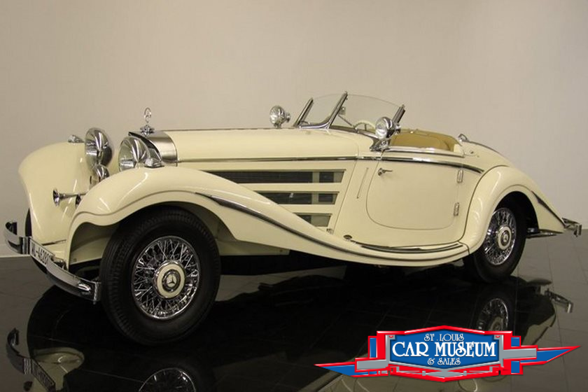 1935 Mercedes Benz 500k Special For Sale at the St Louis Car Museum