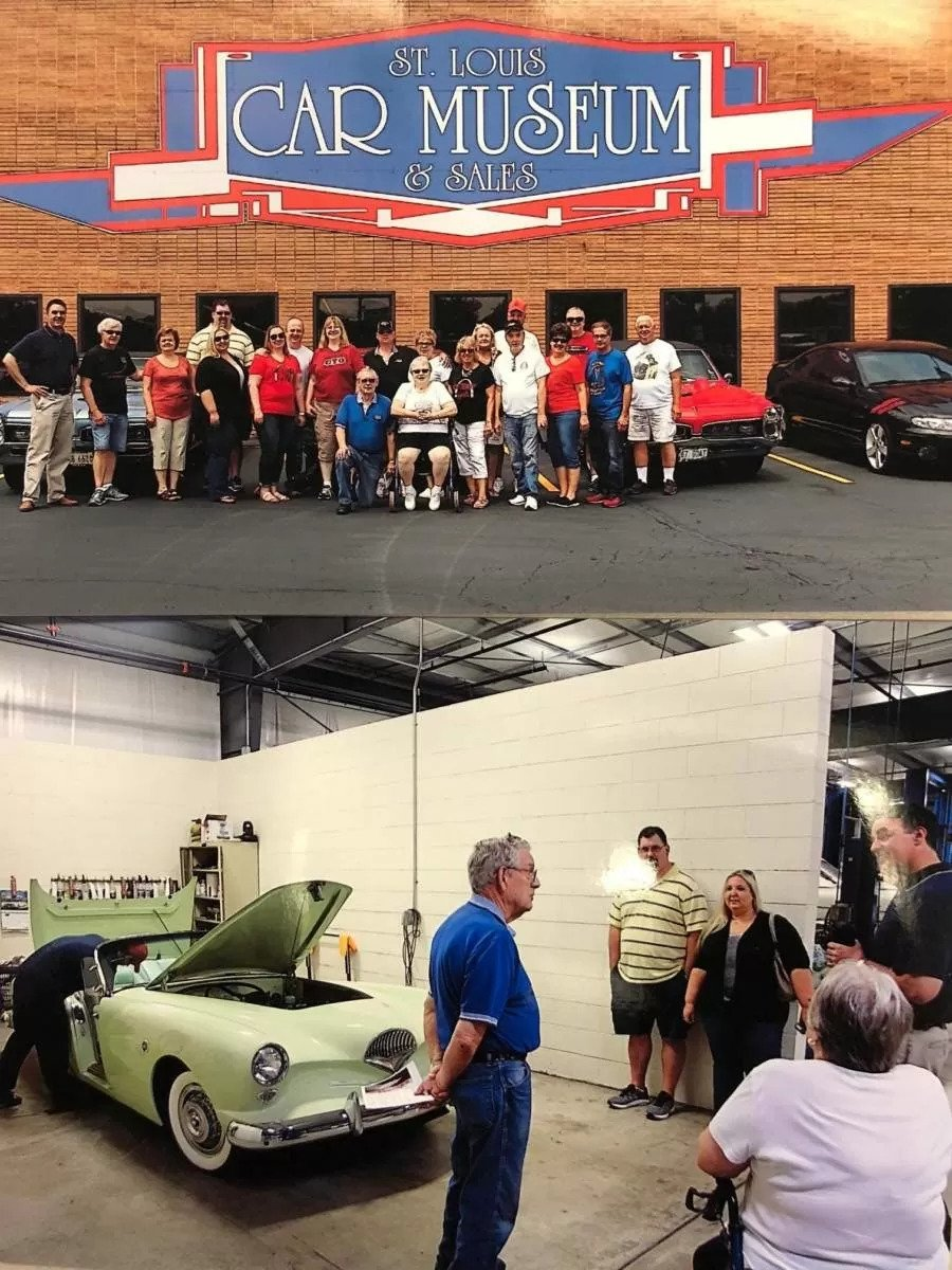 Gateway GTO Association visits St Louis Car Museum