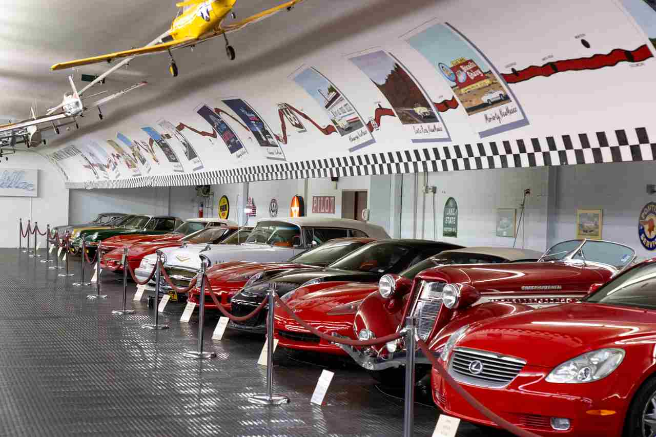 Classic car storage facility in St. Louis Missouri