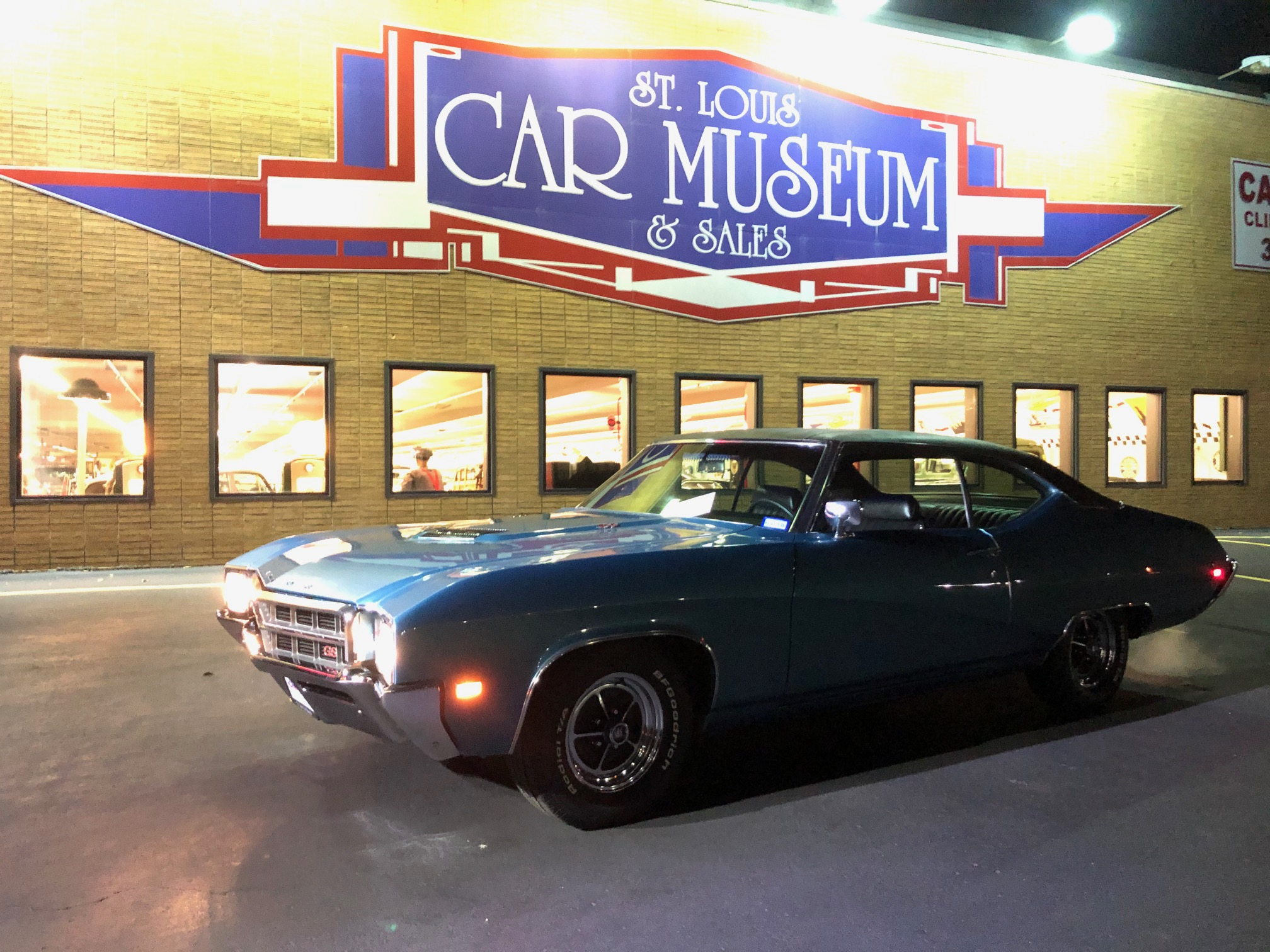 1969 Buick GS400 Hardtop sold at the St. Louis Car Museum