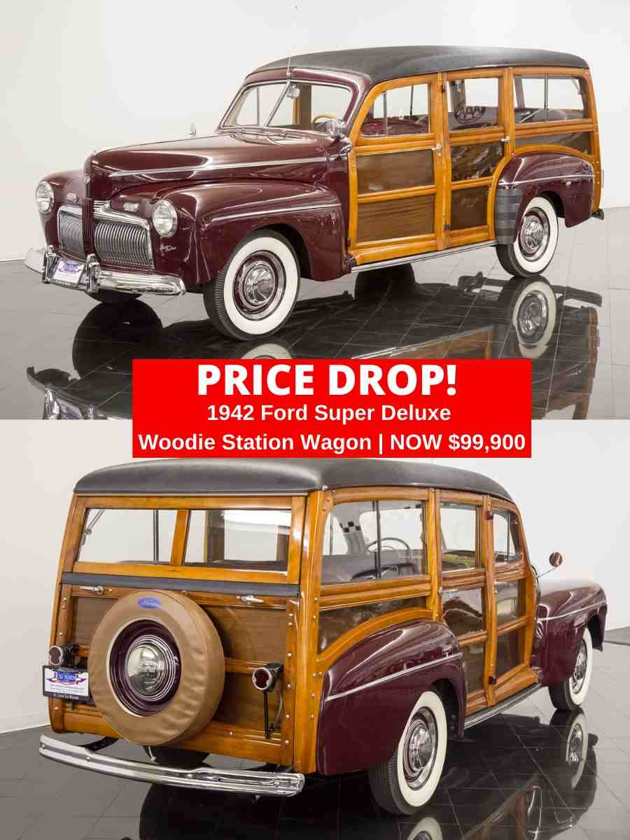 FORD DELUXE WOODIE PRICE DROP