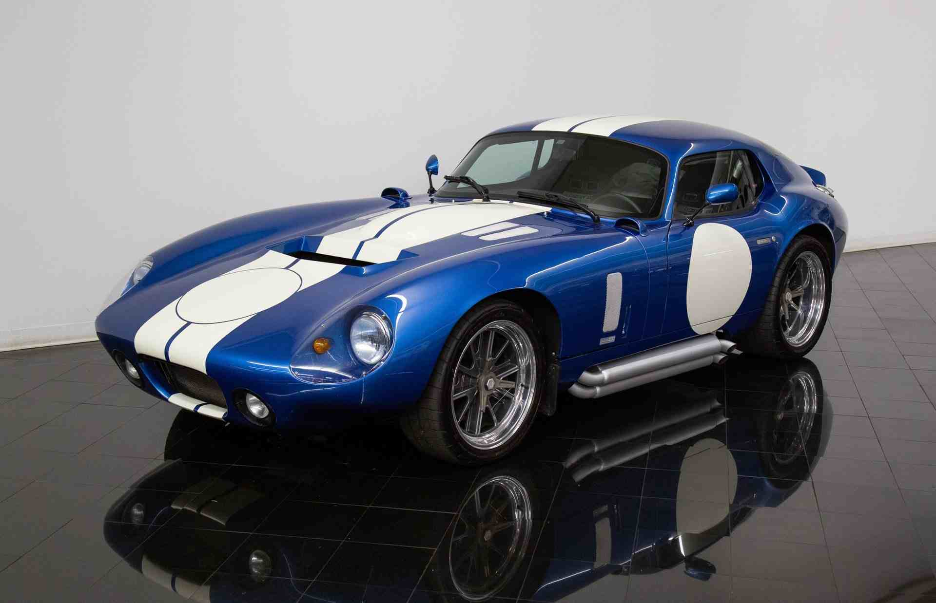 shelby daytona sold at the st. louis car museum