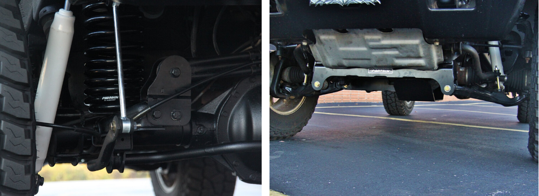 Body & Suspension Lift Kit Hummer Install