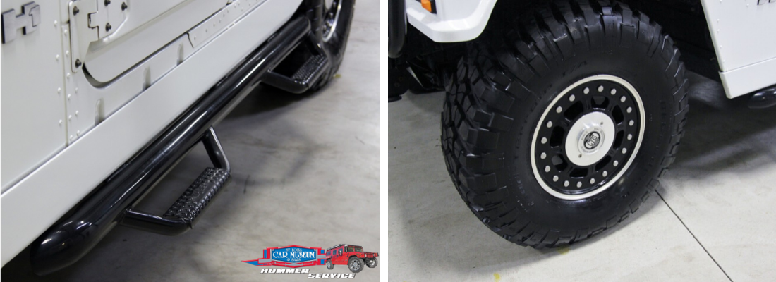 Step assist bar, Custom Rim & Wheels Hummer Install