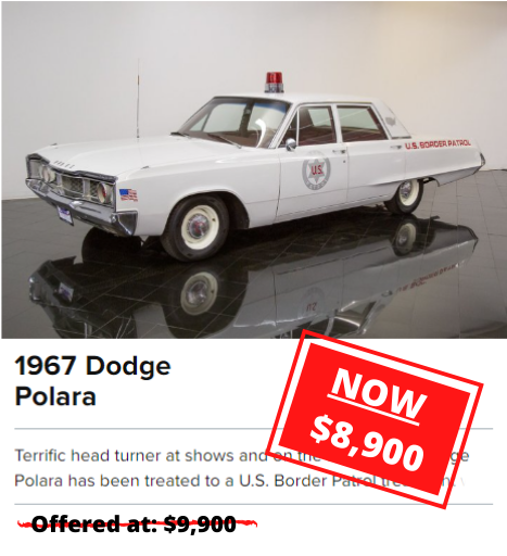 1967 Dodge Polara for sale