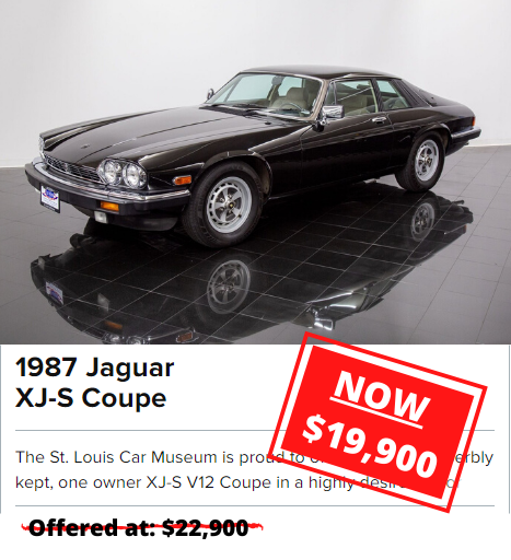 1987 Jaguar XJ-S Coupe for sale