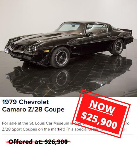 1979 Chevrolet Camaro Z/28 Coupe for sale