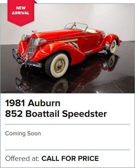 1981 Auburn 852 Boattail Speedster for sale