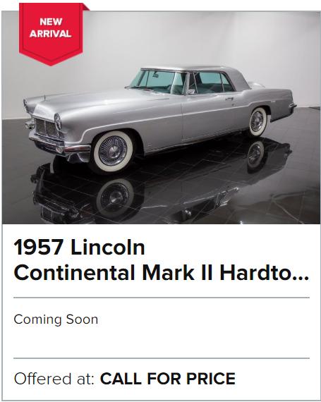 1957 Lincoln Continental Mark II Hardtop Sedan for sale
