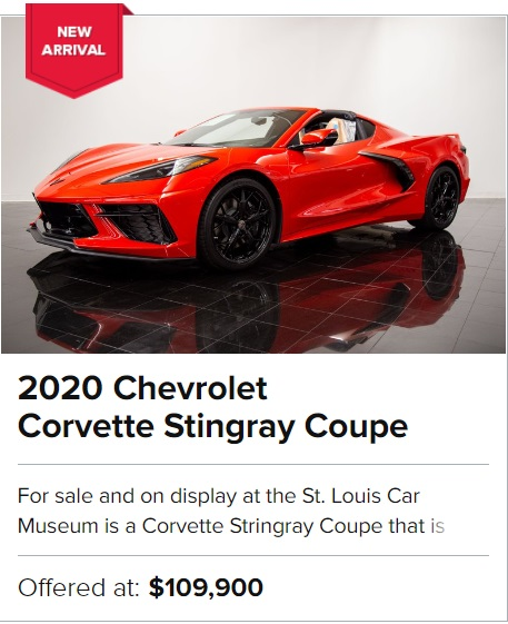 2020 Chevrolet Corvette Stingray Coupe for sale