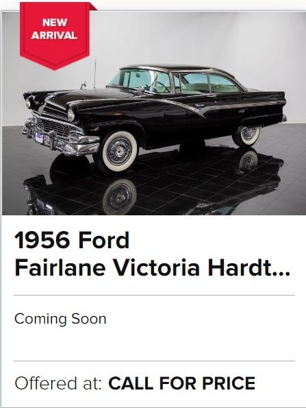 1956 Ford Fairlane Victoria Hardtop for sale