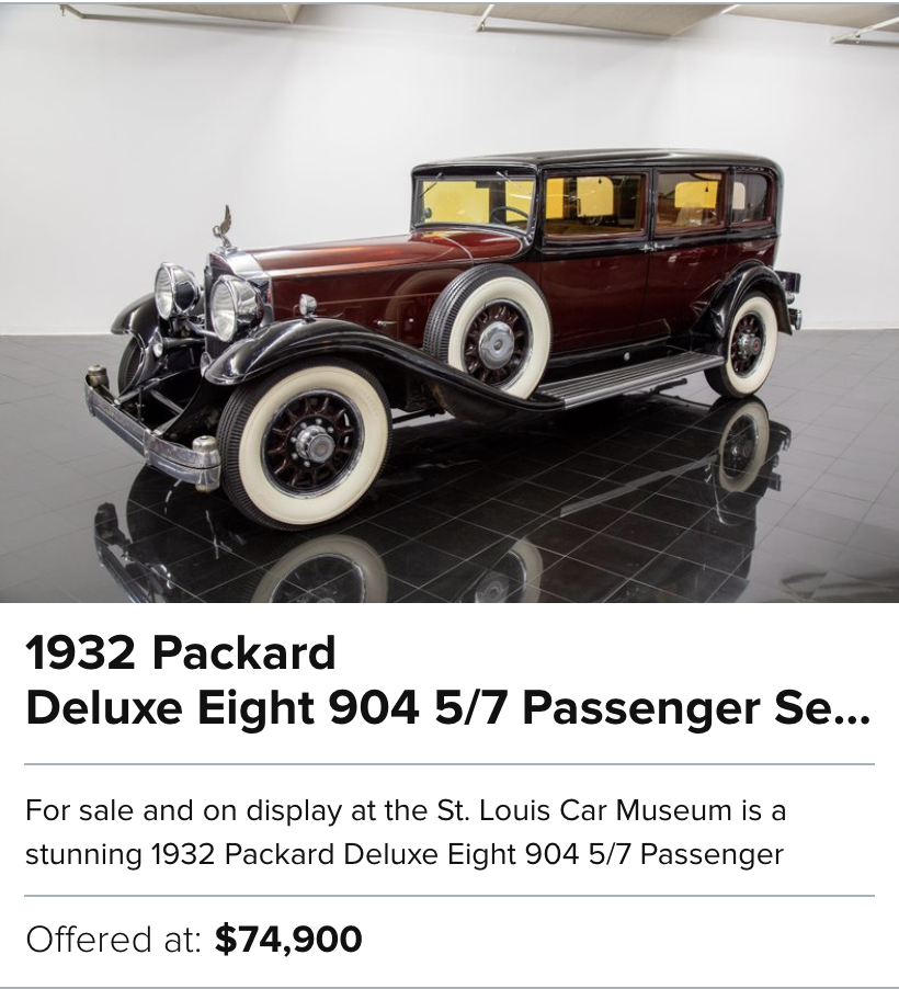 1932 Packard Deluxe Eight 904 for sale