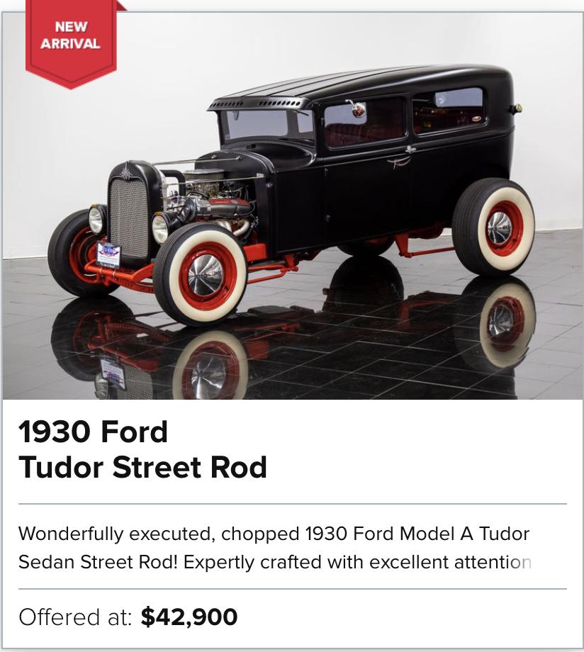 1930 Ford Tudor Street Rod for sale