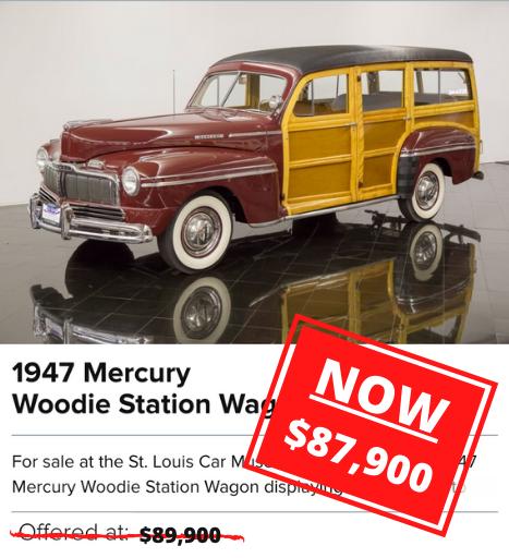 1947 Mercury Woodie Station Wagon for sale