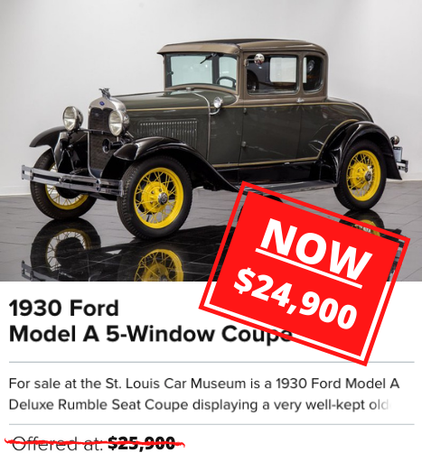 1930 Ford Model A 5-Window Coupe for sale