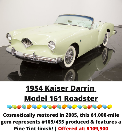 1954 Kaiser Darrin Model 161 Roadster for sale