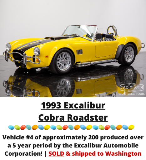 1993 Excalibur Cobra Roadster