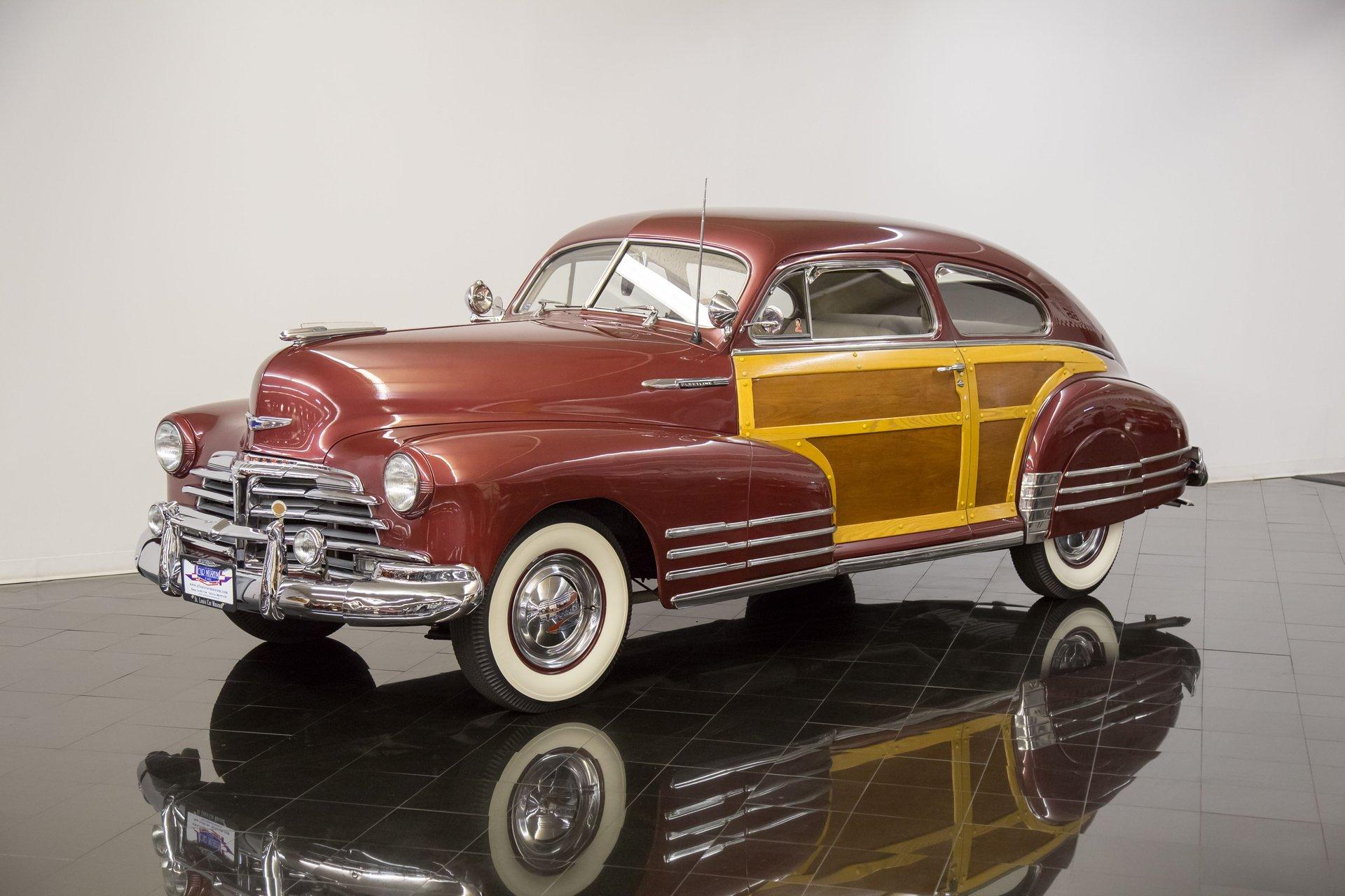 1948 Chevrolet Fleetline Country Club Aerosedan Sedan