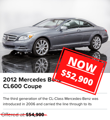2012 MERCEDES BENZ CL600 For sale