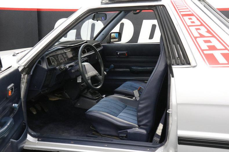 1986 1986 Subaru Brat For Sale