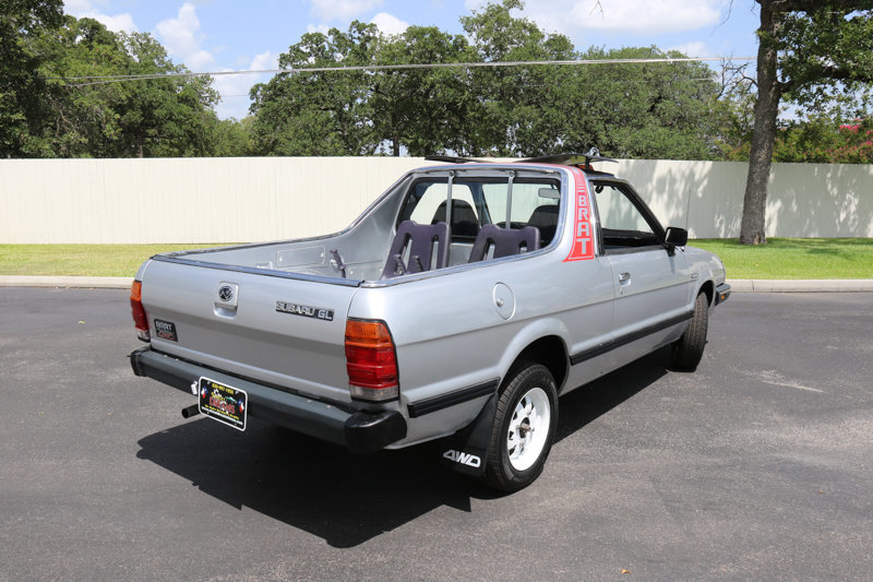 1986 subaru brat for sale 66923 mcg. Black Bedroom Furniture Sets. Home Design Ideas