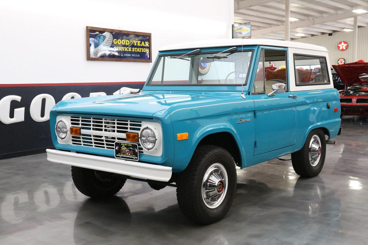 Beste 1970 Ford Bronco Schaltplan Zeitgenössisch - Elektrische ...