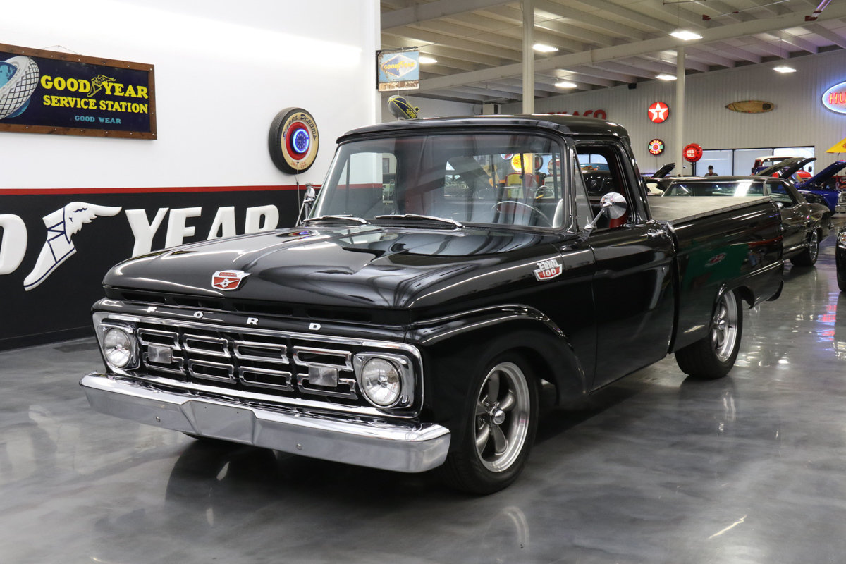 1964 Ford F 100 Short Wheel Base Street Dreams F100 Pickup