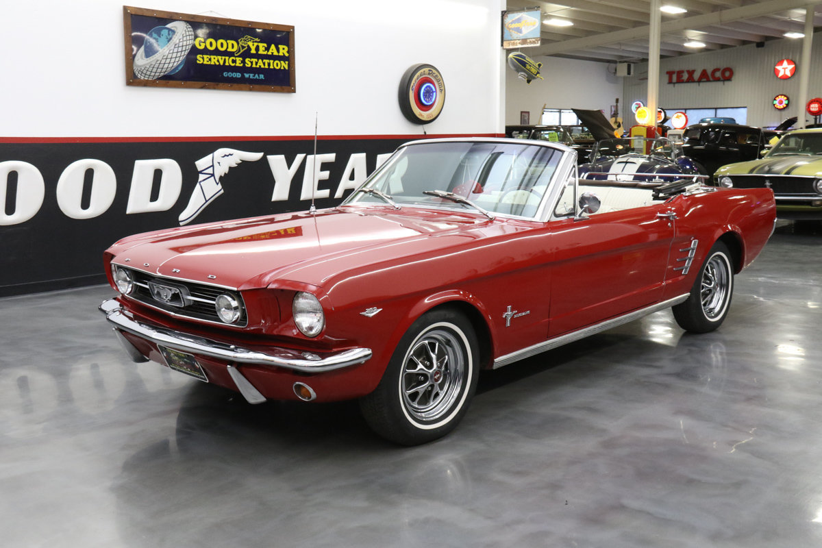 1966 Ford Mustang 289 V8 auto AC for sale #80882 | MCG