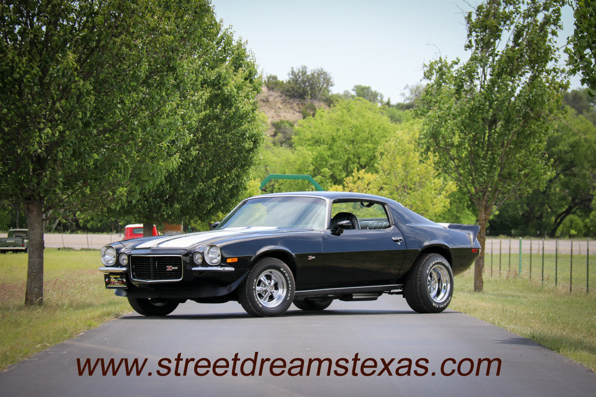 1972 Chevrolet RS Z/28 Camaro Numbers matching LT-1, Turbo 400 ...