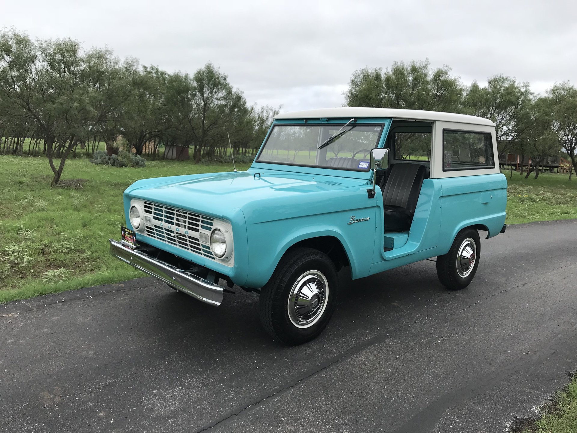 Inventory My Classic Garage 1980 Ford Bronco Blue