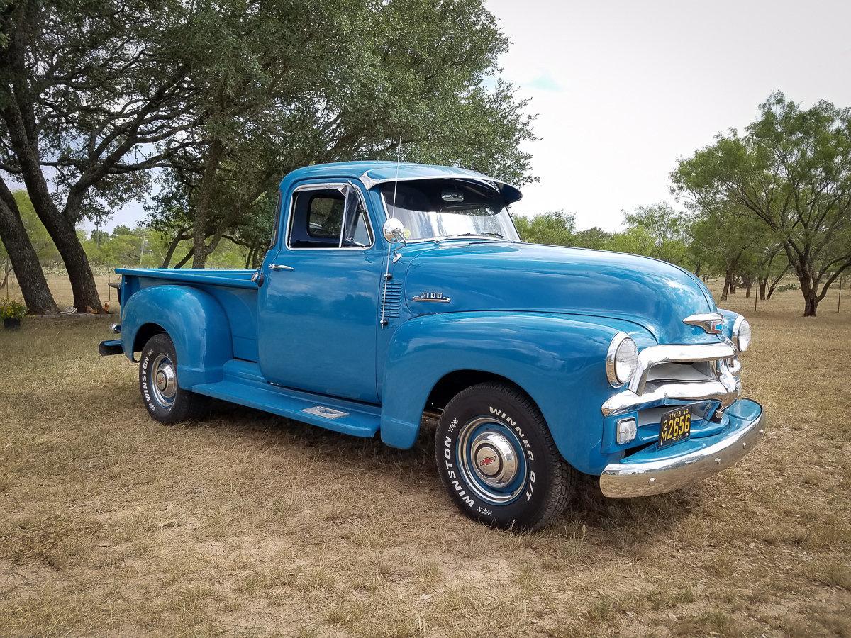 1954 Chevrolet 3100 Street Dreams Truck Paint Colors