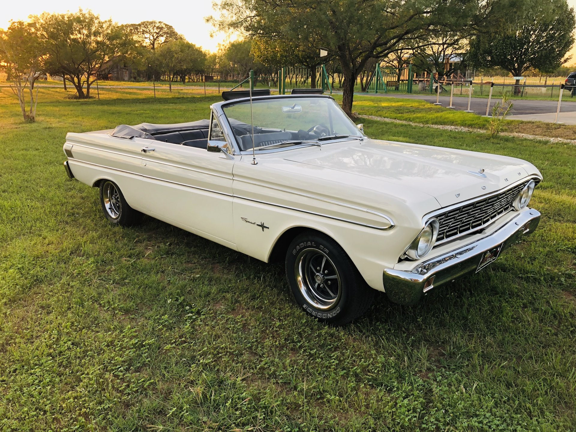 1964 Ford Falcon Sprint 260 V8 4 Speed Convertible Nice Clean For Sale