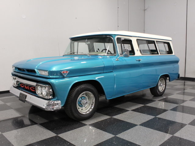 For Sale: 1963 GMC Suburban