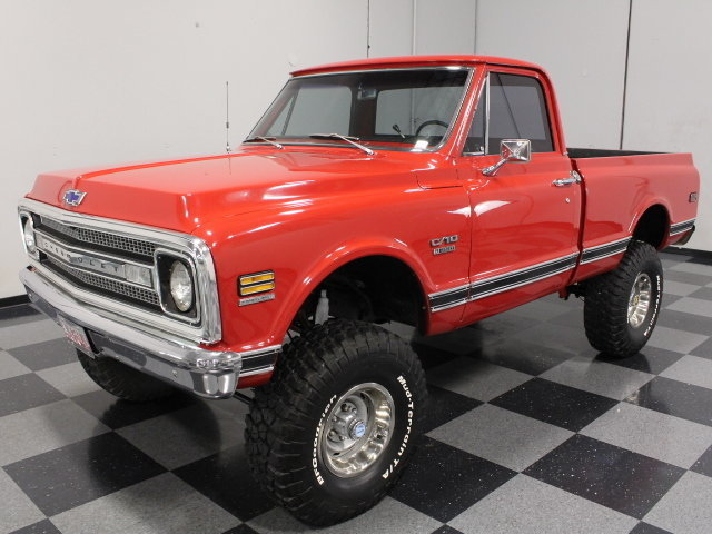 For Sale: 1970 Chevrolet K-10