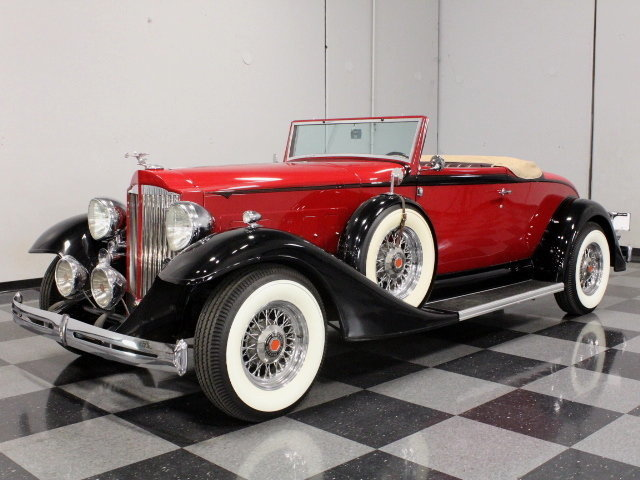 For Sale: 1933 Packard Super 8