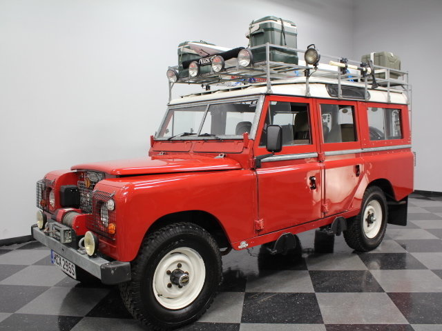 For Sale: 1978 Land Rover Series III
