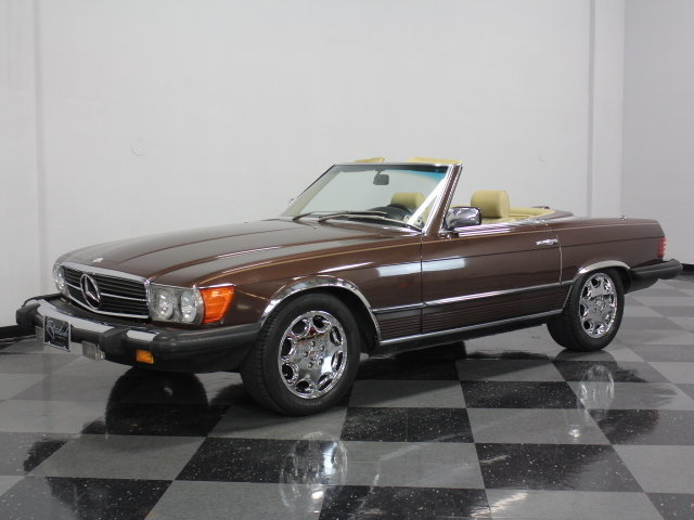 For Sale: 1981 Mercedes-Benz 380SL