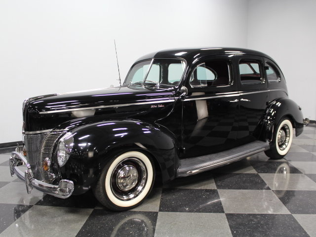 For Sale: 1940 Ford Slant Back Sedan