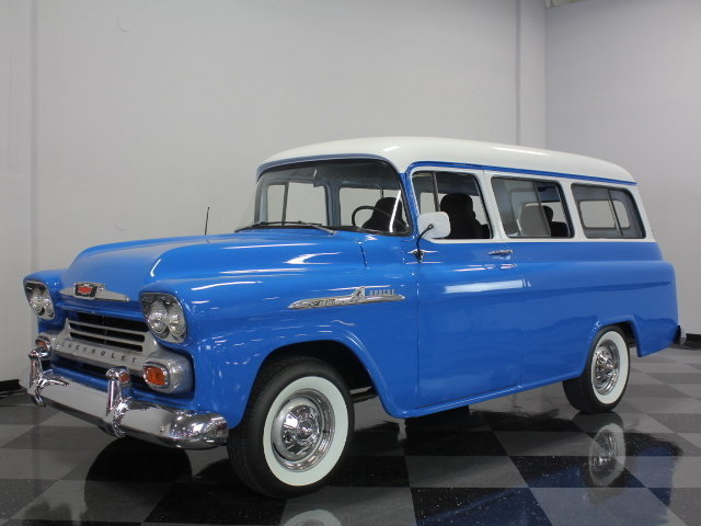 For Sale: 1958 Chevrolet Suburban