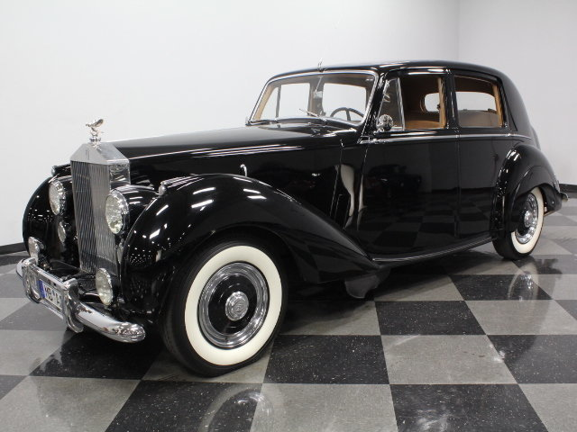 For Sale: 1952 Rolls-Royce Silver Dawn