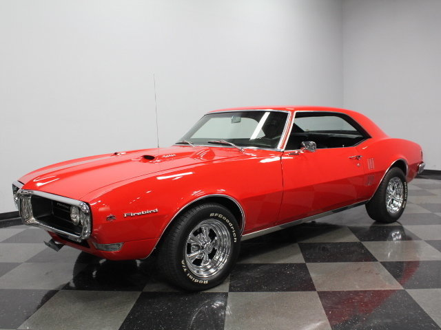 For Sale: 1968 Pontiac Firebird
