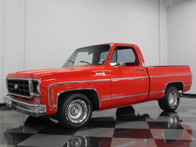 For Sale: 1975 Chevrolet C10