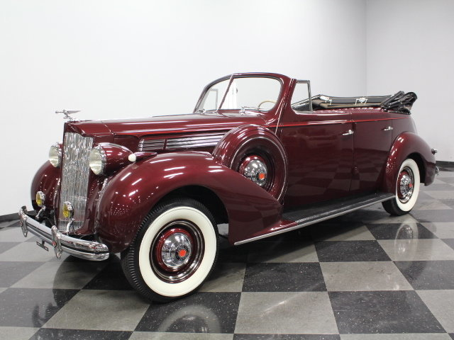 For Sale: 1938 Packard Eight Convertible