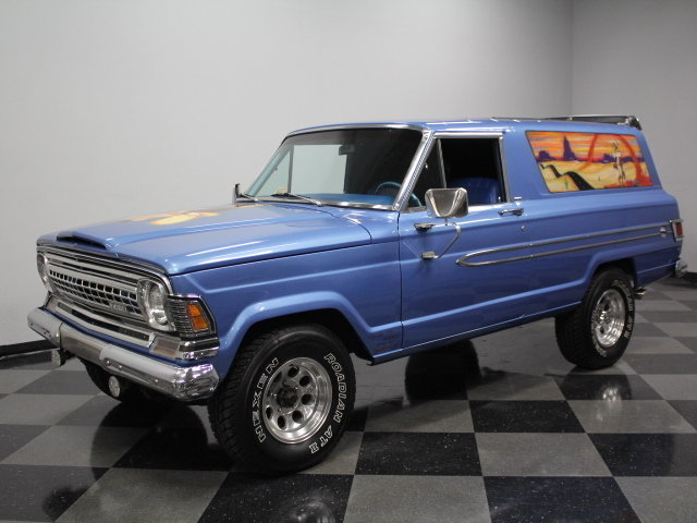 For Sale: 1973 Jeep Grand Wagoneer