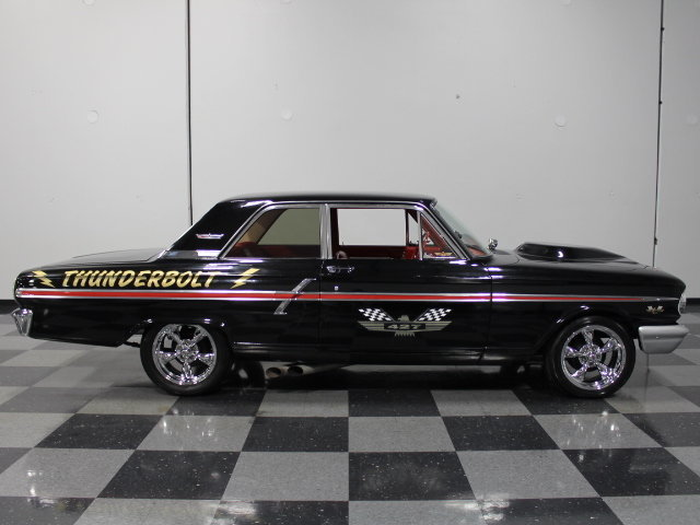 1964 ford fairlane streetside classics the nation 39 s for Thunderbolt motors and transmissions
