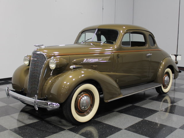 For Sale: 1937 Chevrolet Master