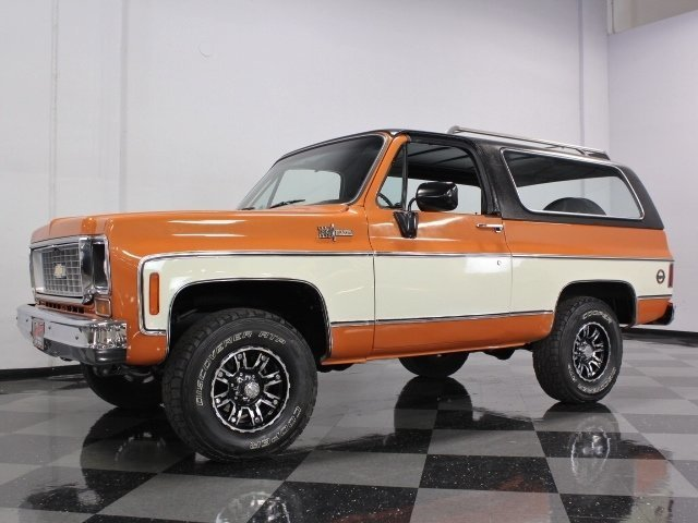 For Sale: 1973 Chevrolet Blazer
