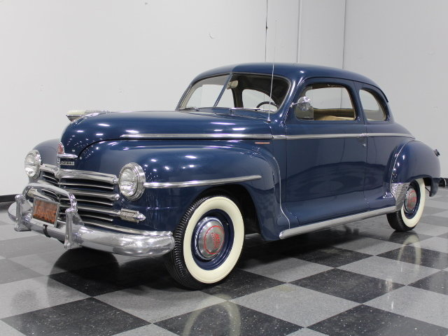 For Sale: 1948 Plymouth Deluxe