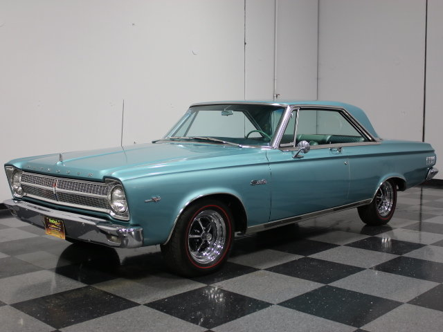 For Sale: 1965 Plymouth Satellite